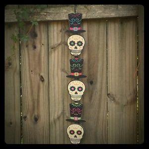 Halloween Sugar Skulls Day of the Dead Decoration